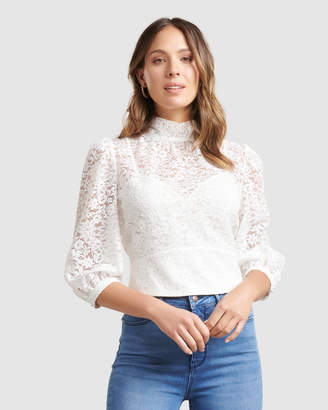 Forever New Iris Lace Blouse