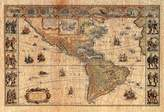 Poster Revolution Old World Map Photo # 2 Art Print POSTER lithograph Collections Poster Print, 19x13