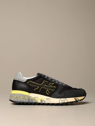 Premiata Sneakers Mick Sneakers In Suede And Nylon