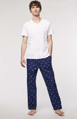 Lacoste 3-Pack Slim Fit Essentials V-Neck T-Shirts