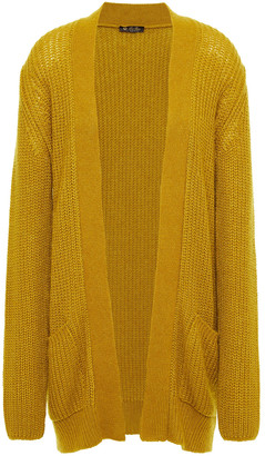 Loro Piana Ribbed Cashmere And Silk-blend Cardigan