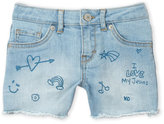 Levi's Girls 7-16) Doodle Shorty Short