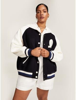 Tommy Hilfiger Curve Crest Varsity Jacket