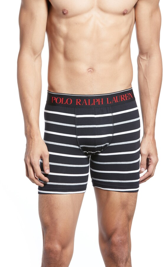 Polo Ralph Lauren Stripe Boxer Briefs