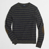 J.Crew Factory Donegal striped crewneck sweater