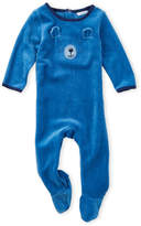 Absorba Newborn Boys) Bear Face Footie