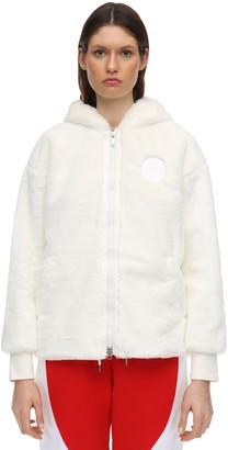 Nike Jordan Psg Faux Fur Jacket