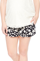Motherhood Secret Fit Belly Floral Maternity Short