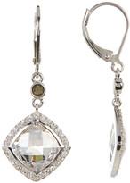 Judith Jack Sterling Silver Marcasite & Crystal Detail Drop Earrings