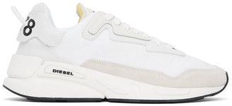 Diesel White S-Serendipity Low Sneakers