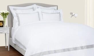 Frette Bicolore Oxford Pillowcase (51cm x 71cm)