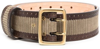 Chloé Square-Buckle Belt