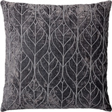 Lene Bjerre Emilia Square Cushion Viscose Cotton Smoked Grey