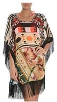 F**K F**k Women's Multicolor Polyester Dress.