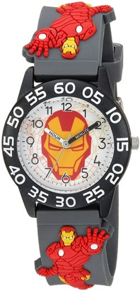 Marvel Boys' Iron Man Analog-Quartz Watch with Plastic Strap