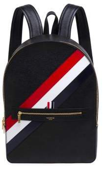 Thom Browne Classic Leather Backpack
