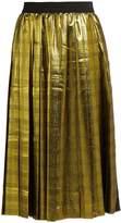 Muveil High-rise pleated skirt