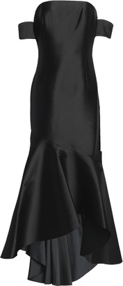 Sachin + Babi Off-the-shoulders Fluted Taffeta Gown