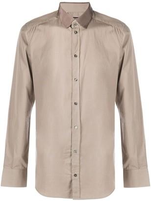 Dolce & Gabbana Contrast-Collar Shirt