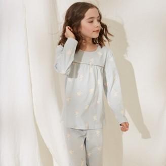 The White Company Fairy Frill Pyjamas (1-12yrs), Blue, 2-3yrs