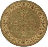 Surya CRN6001 Crowne Classic Hand Tufted 100% Wool Beige Rug (8-Feet Round)