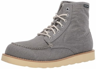 Eastland mens Lumber Up Canvas Boot GRAY 11.5 M US