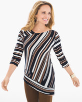 Chico's Matchstick Print Top