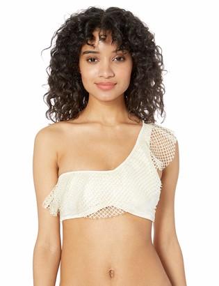 OndadeMar Women's Ecru Structured Bikini TOP