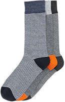 Joe Fresh Men's 3 Pack Socks, JF Midnight Blue (Size 10-13)