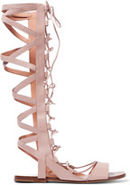 Sigerson Morrison Bright leather gladiator sandals