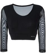 Bodyism - I am Passionate jersey - women - Polyamide/Spandex/Elastane - S
