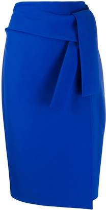 P.A.R.O.S.H. tie waist skirt