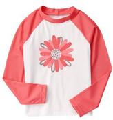 Gymboree Daisy Rash Guard
