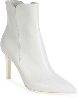 Gianvito Rossi Soft Pointed Zip Booties