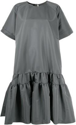 Rochas Flared Midi Dress