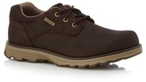 Caterpillar Dark Brown 'prez' Shoes