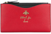 Gucci 'Blind for Love' card holder - women - Leather - One Size