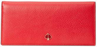 Kate Spade Polly Leather Bifold Continental Wallet