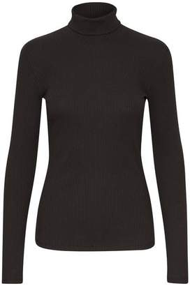 Gestuz Black Rolla Rollneck Pullover - XS - Black