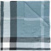Burberry house check scarf - men - Silk/Modal/Cashmere/Wool - One Size