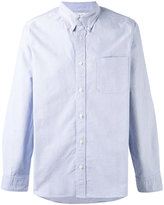 Visvim elbow patch Oxford shirt - men - Cotton - II