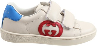 Gucci Beige Sneakers For Kids