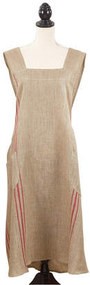 Saro Lifestyle Criss Cross No-Tie Striped Apron