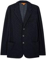 Barena Navy Knitted Blazer