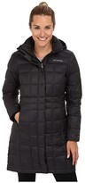 Columbia Hexbreakertm Long Down Jacket (Black) Women's Jacket