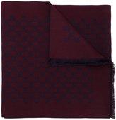 Gucci GG Supreme color block scarf