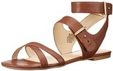 Nine West Women's Darcelle Leather Dress Sandal