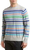 Alex Cannon Striped Crewneck Sweater.