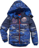 Asstd National Brand Boys Avengers Heavyweight Puffer Jacket-Preschool