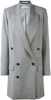 Golden Goose Deluxe Brand long double breasted coat - women - Polyester/Acetate/Virgin Wool - S